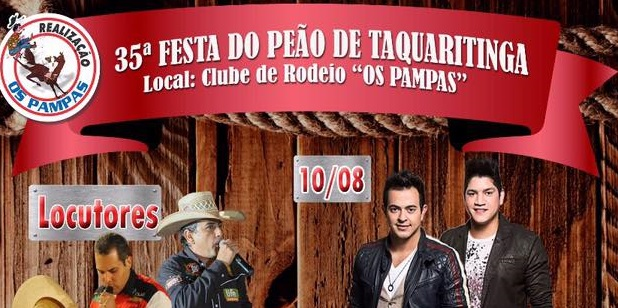 Festa do Peão 2017Recinto Banner