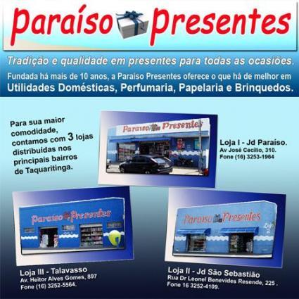 Paraíso Presentes Loja II