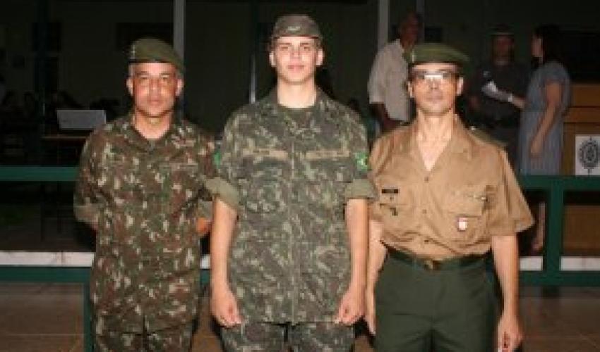 Atirador do Tiro de Guerra de Taquaritinga é convocado como soldado/atleta do Exército Brasileiro