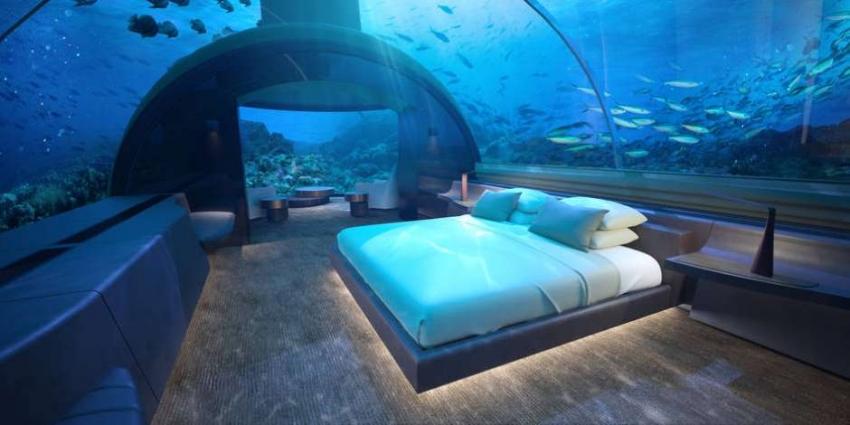 Hotel nas Maldivas terá quarto no fundo do oceano!